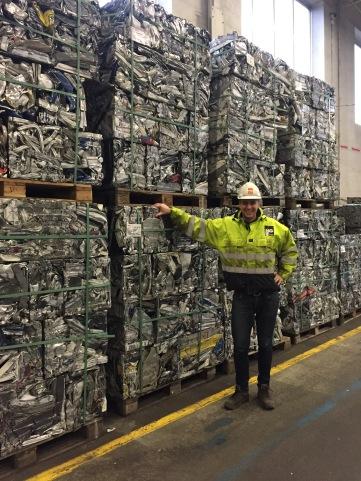Råvarelager i Drammen - klar for eksport!